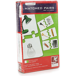 Toy Kraft Matched Pairs (10 Pieces)