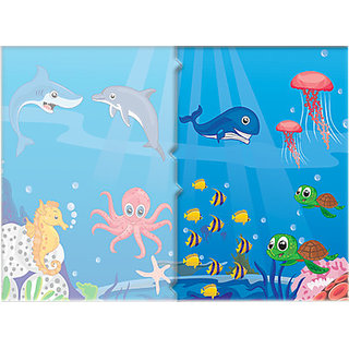 Toy Kraft More Sea Animals (12 Pieces)