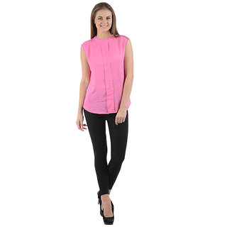 Ektara Womens Baby Pink Top