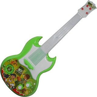 New Pinch Music Guitar battery operated with pop music fetching lights