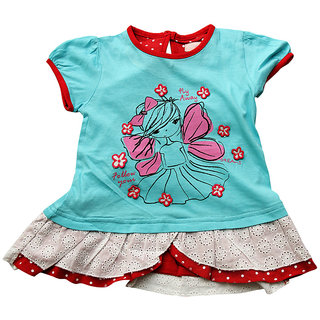 JusCubs Tunic- Fly Away Blue Tee