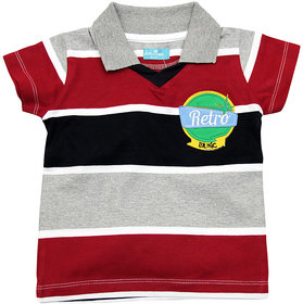 JusCubs Tee- Retro Striper