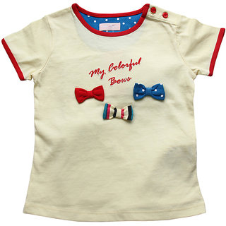 JusCubs Tee- Colorful Bows