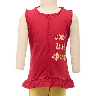 JusCubs My Little Pony Red Top