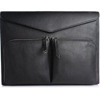 Craft Concepts Mac-Tos Black Leather Laptop Sleeves