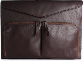 Craft Concepts Mac-Tos Brown Leather Laptop Sleeves