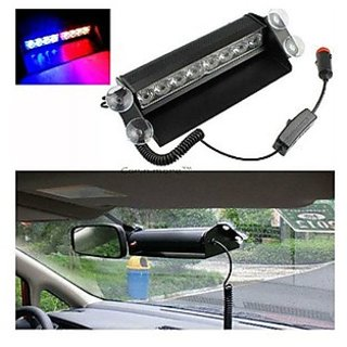 Takecare Leds Wind Shield Sucker Strobe Warning Flash For Renault Duster