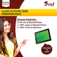 Class 11 (PCM) CBSE Premium Pack In Educational Tablet