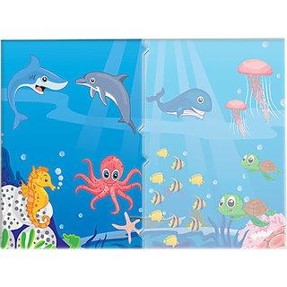 Toy Kraft Sea Animals (12 Pieces)