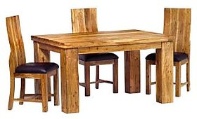 Indian Hub Dining Table