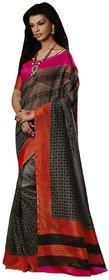 Designer Bhagalpuri Silk Premium Printed Latest Fashion Saree 19040