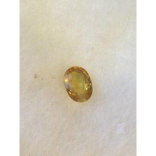 Real yellow sapphire   (pukhraj) 2.20      cts