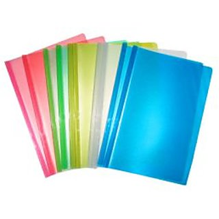 Paper Stick File Folder With Flap (Pack Of 10 Files