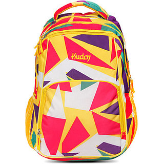 Kudos Fz009Yellow 5 Kg Medium Backpack (Yellow Size - 220)