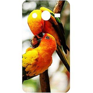 Casotec Love Birds Design Hard Back Case Cover For Samsung Galaxy Core 2 G355H
