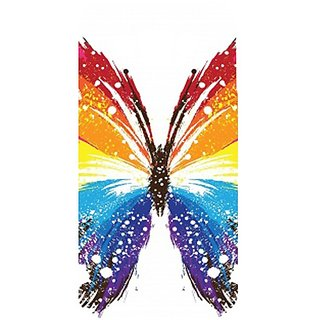 Casotec Butterfly Abstract Colorful Design Hard Back Case Cover For Samsung Galaxy E7