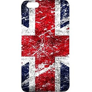 Casotec Uk Flag Design Hard Back Case Cover For Huawei Honor 4X