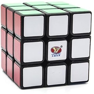 Yj Yulong 3X3X3 Speed Cube Puzzle Black (1 Pieces)