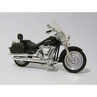 Maisto 118 Yamaha 2001 Road Star Silverado Diecast Motorcycle (Black)