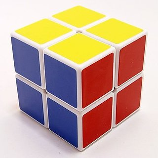 Yj X2 2X2 Speed Cube White (1 Pieces)