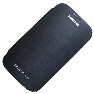 Samsung galaxy Grand i9082 NFC flip case / cover Black