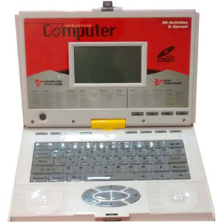 80 Activity Learning Computer With Cd Mouse