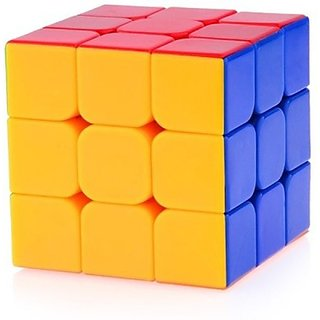 My Toys Magic Cube 3X3X3 Speed Rubik Stickerless (1 Pieces)