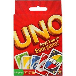 Mattel Uno Fast Fun For Everyone
