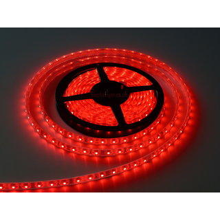 FINE 5 METRER RED NON WATER PROOF CUTTABLE LED STRIP WITH FREE AC ADAPTE