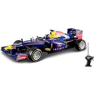 Maisto 2013 F-1 Red Bull Racing Radio Control Car-(Blue)