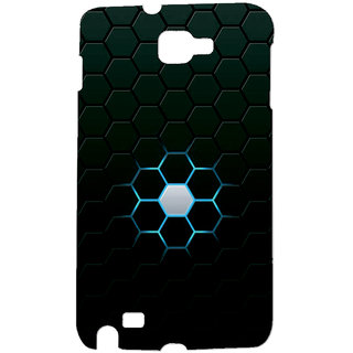 Gripit Glowing Hexagon Case For Samsung Galaxy Note