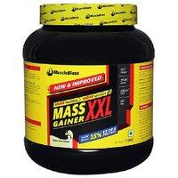 MuscleBlaze Mass Gainer XXL 1.5 Kg / 3.3 Lbs Kesar Pist