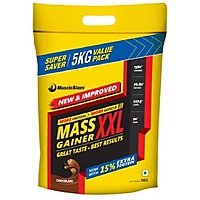 MuscleBlaze Mass Gainer XXL 5 Kg / 11 Lbs Chocolate