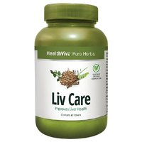 HealthViva Pure Herbs Liv Care 60 Tablet(s)