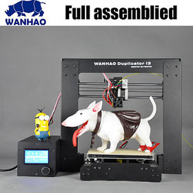 3D Printer Fully Assembled Wanhao Duplicator I3 - Free Shipping - 3DSculpto