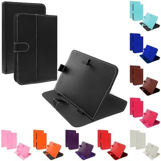 Leather FLIP COVER STAND TAB CASE POUCH FOR 7