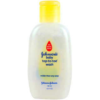 Johnsons Baby Top To Toe Wash - 50ml