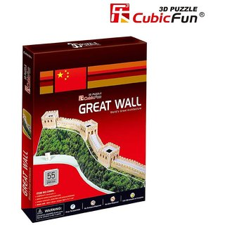 Frank Puzzles - Great Wall 3D - 55 Pieces
