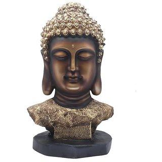 Gharonda SP349 BROWN GOLD COLOR Budhha face