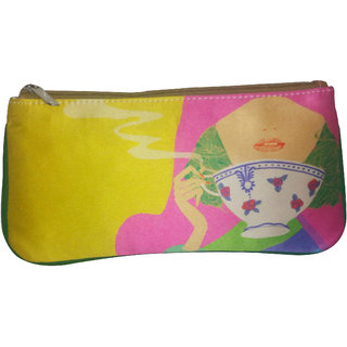 Printed Zip Pouch