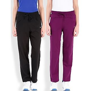 Beyouty Cotton blend Womens Trackpants (Pack of 2)