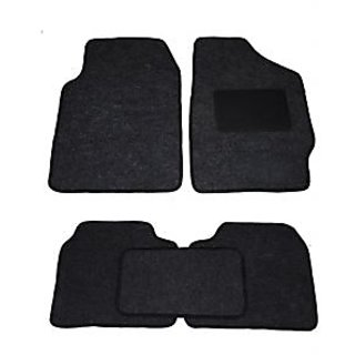 Auto Hub Black Carpet for Hyundai i20  (Set of 5)
