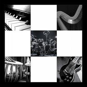 10 am Music Instruments Wall art