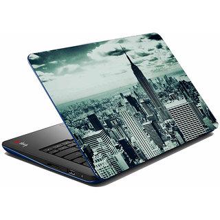 meSleep Grey Old City Laptop Skin
