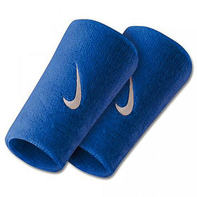 Verceys Long Blue Sports Doublewide Wrist Band - Pack Of 2