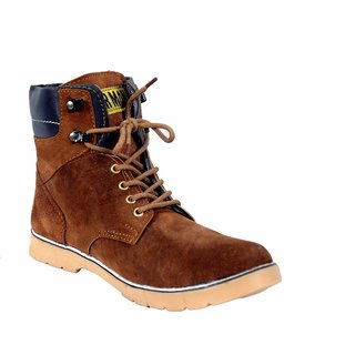 Leather Man Ankle Boot