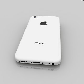 pretty nice c1f88 2eb84 Buy Apple iPhone 5C Back Panel White Online @ ₹239 from ShopClues