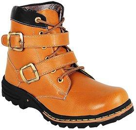 Shooz Men's Tan Lace-up Boots