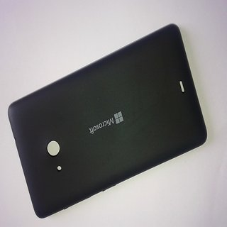 BATTERY BACK PANEL FOR NOKIA LUMIA 535 ( MICRO SOFT )-BLACKCOLOUR