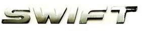 MARUTI SUZUKI SWIFT Car Monogram Chrome Monogram Emblem Logo
